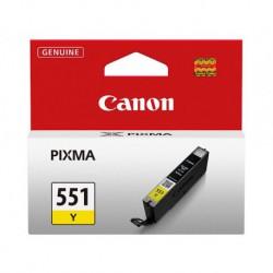 Cartouche d'encre Canon CLI-551Y