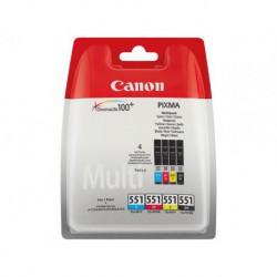 Canon CLI-551 - Pack de 4 couleurs