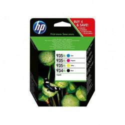 HP Promo Pack 934XL/935XL Series 4 Cartouches