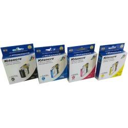 Pack 4 Inktpatronen LC227/225 K / C / M / Y