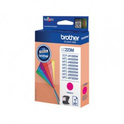 Cartouche d'encre Brother LC-223 Magenta