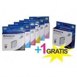 Pack 6 Inktpatronen +1 GRATIS - T0487