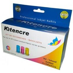 Inkt Kleur - 3 x 30 ml