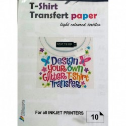 T-Shirt Transfert A4 - 10 f