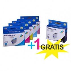Pack 6 Inktpatronen +1 GRATIS - T0807