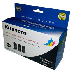 Kit Encre Noir - 3 x 30 ml