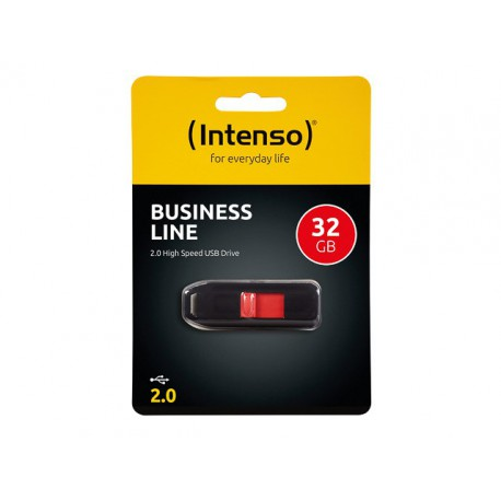 INTENSO USB DRIVE 2.0 32GB BLACK Business Line