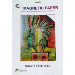 Papier Magnetic Glossy A4 - 5 f