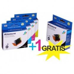 Pack Inktpatronen CLI8 / PGI5BK - 4 + 1 GRATIS