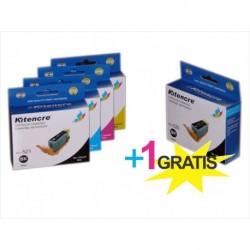 Pack Inktpatronen CLI521 / PG520 - 4 + 1 GRATIS