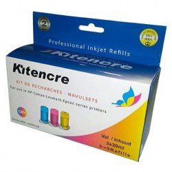 Kit Encre Couleur -3 x 30 ml