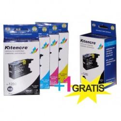 Inktpatronen LC-1280 HC - Pack 4+1 GRATIS