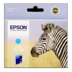Cartouche d'encre Epson T0742 Cyan