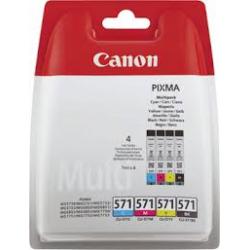 Canon CLI-571 - Pack van 4 kleuren