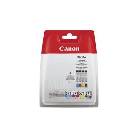 Canon CLI-571 - Pack de 4 couleurs