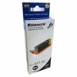 Inktpatroon CLI-571BK XL