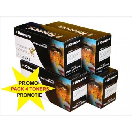 Pack 4 Toners CE310 - 126A K / C / M / Y