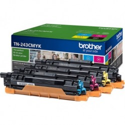 Pack 4 Toners Brother TN-243 CMYK