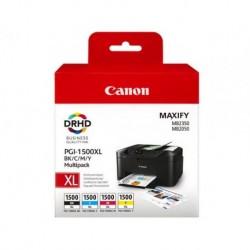 Canon PGI-1500XL - Pack de 4 couleurs