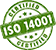 ISO 14001 - Certified