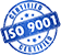ISO 9001 - Certified'